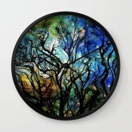 Van Goghs Aurora Borealis 2 Wall Clock