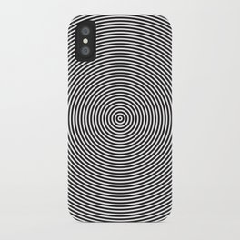 op art - circles iPhone Case