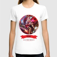 league of legends T-shirts featuring League Of Legends - Ashe by TheDrawingDuo