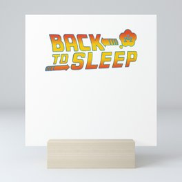 Back to the sleep Mini Art Print