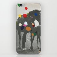 pony iPhone & iPod Skins featuring PONY by Beth Hoeckel