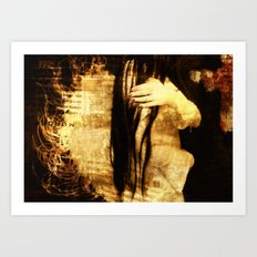 Angel II Art Print