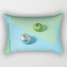 APPLE GLITCH Rectangular Pillow