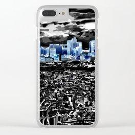 Paris - Blick vom Eiffelturm 2 Clear iPhone Case