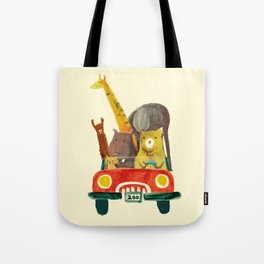 Visit the zoo Tote Bag
