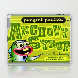 pungent paulie's anchovy syrup Laptop & iPad Skin