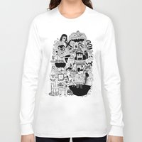 doom Long Sleeve T-shirts featuring KIDS DOOM by WASTED RITA