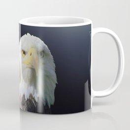 Bald Eagle Bird Wildlife Wall Art Lodge Art, Cabin Print A468 Coffee Mug