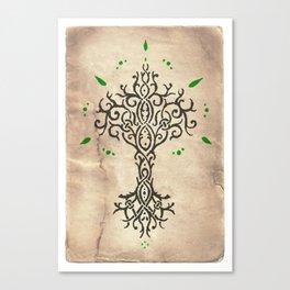 Tillmoriăn Tree of Truth Canvas Print