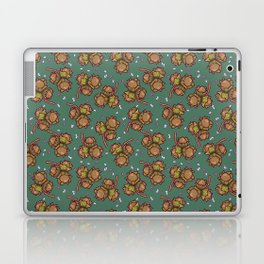 Crunchy nuts pattern Laptop & iPad Skin