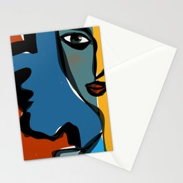 Staring at Matisse Stationery Cards