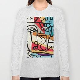 URBAN POP ART - ORIGINAL ART COLORFUL ROBERT R Long Sleeve T-shirt