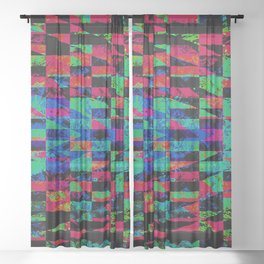 DEBUGGED Sheer Curtain