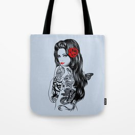 Tattoo Lolita Tote Bag