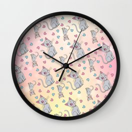 Diana Pattern Wall Clock