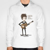 dylan Hoodies featuring Dylan by AnaMF
