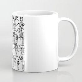 Gustav Mahler Conducts Symphony Coffee Mug