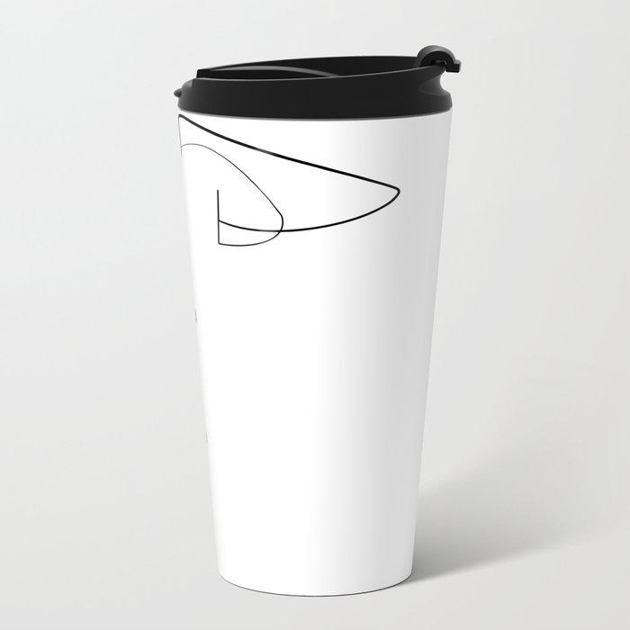 A little taste of your soul Metal Travel Mug
