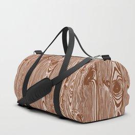c13D Woodgrain Duffle Bag