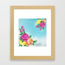 Flor de Chita Framed Art Print