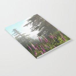 Misty Mountain Wildflowers Notebook