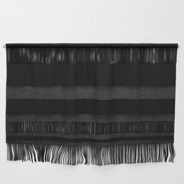 Black Minimalist Solid Color Block Wall Hanging