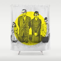 religion Shower Curtains featuring Abusing My Religion by S. Bradley Askew