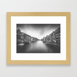 Caught in a Constant Sea Framed Art Print