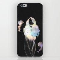 medusa iPhone & iPod Skins featuring Medusa by Daniel Taylor