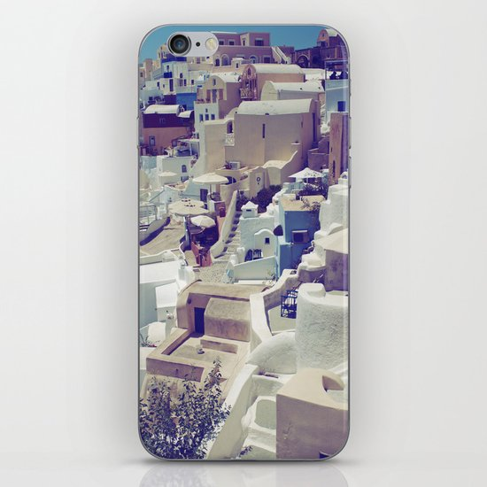 Oia, Santorini, Greece iPhone Skin