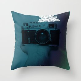 about moment Throw Pillow