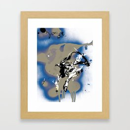 BAD MOON - SLIDE Framed Art Print