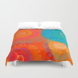 BE EXACTLY WHO YOU ARE Duvet Cover