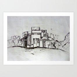 wotruba Art Print