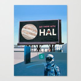 Get There With HAL Canvas Print