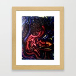 Bongos on my mind Framed Art Print