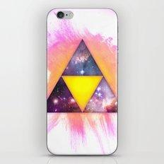 Cosmic Triforce iPhone & iPod Skin