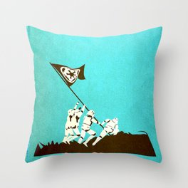 Fight for the Empire Throw Pillow