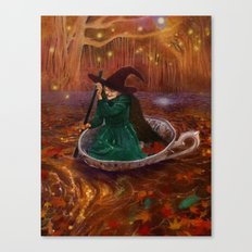 The Tea Witch Canvas Print