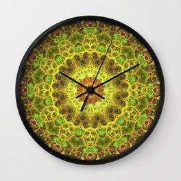 Dimensional Transition Mandala Wall Clock
