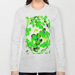 Floral Easter Egg Long Sleeve T-shirt