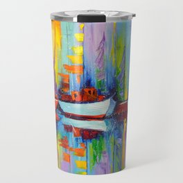 Sailboats berth Travel Mug