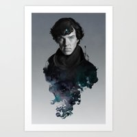 artgerm Art Prints featuring The Excellent Mind by Artgerm™