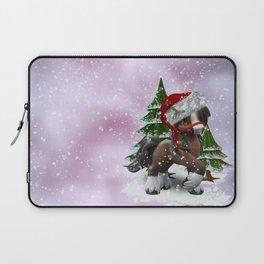 Santa Pony Laptop Sleeve