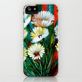 New Wave Flowers iPhone Case