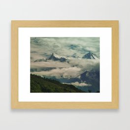The Call of the Mountain 001 Framed Art Print