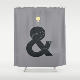 An Idea Shower Curtain