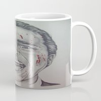 american psycho Mugs featuring American Psycho by A.H.