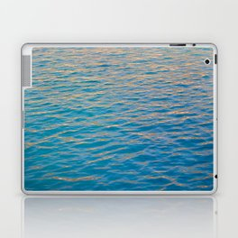 Sunset rays on the ocean Laptop & iPad Skin