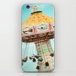 Carnival swings iPhone Skin